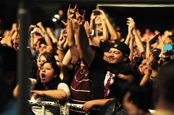 CIUDAD JUAREZ, CHIH., AGOSTO 08 DE 2014 //  El Grupo DLD en concierto.