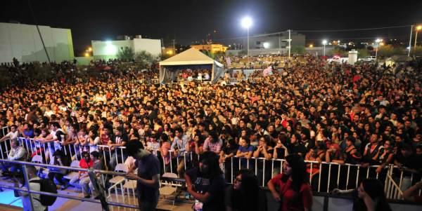 CIUDAD JUAREZ, CHIH., AGOSTO 08 DE 2014 //  Concierto de Torreblanca.