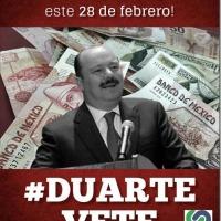 POLARIZA A CHIHUAHUENSES DENUNCIA PENAL CONTRA DUARTE