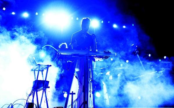 CIUDAD JUAREZ, CHIH. 07 DE AGOSTO DE 2015. //  Moenia en el 11vo Festival Internacional Chihuahua 2015. Plaza de la Mexicanidad. FOTO: GABRIEL CARDONA