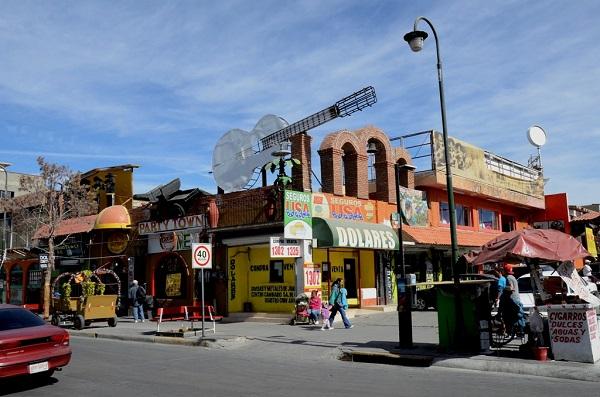 La avenida Juárez.
