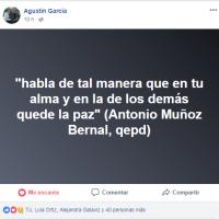 HOMENAJE PÓSTUMO EN EL CAMPUS