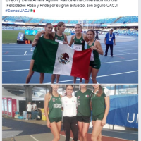 #OrgulloUACJ EN UNIVERSIADA 2019
