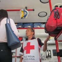 AMBULANCIA EN CIUDAD UNIVERSITARIA